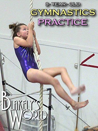 8-Year-Old Gymnastics Practice