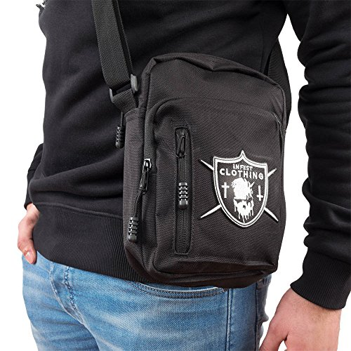 Infest Clothing Umhaengetasche Unholy Core Bag schwarz (black)