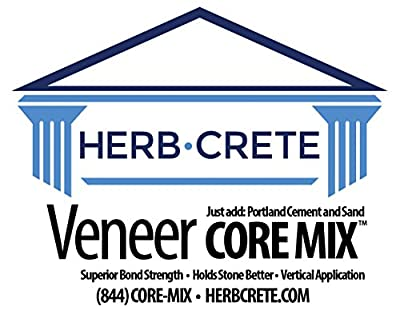HerbCrete Premium Mortar Mix Concentrate (Core Mix) For Most Thinset Masonry Applications