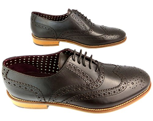 Gatsby Dunkelbraun Brogues London Schuhe Brogue Dark Brown TpnHBzwHq