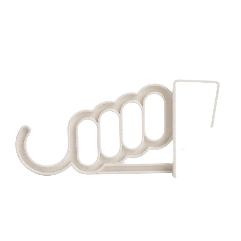 Azul Sharplace Perchas con Clips Complimentos 6 Niveles Almacenamiento de Armario Decorativo C/ómodo