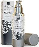 Voibella Advanced Organic Retinol Night Cream & Anti-Aging Moisturizer For Women - Best Natural Anti-Wrinkle, Pore Refining & Brightening Treatment For Face - Shea Butter, Aloe Vera & Green Tea, 1.7oz