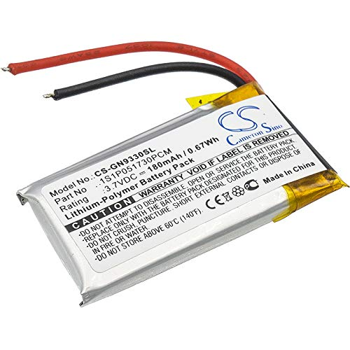 - Replacement Battery for GN 9330 Netcom 9330 1S1P051730PCM