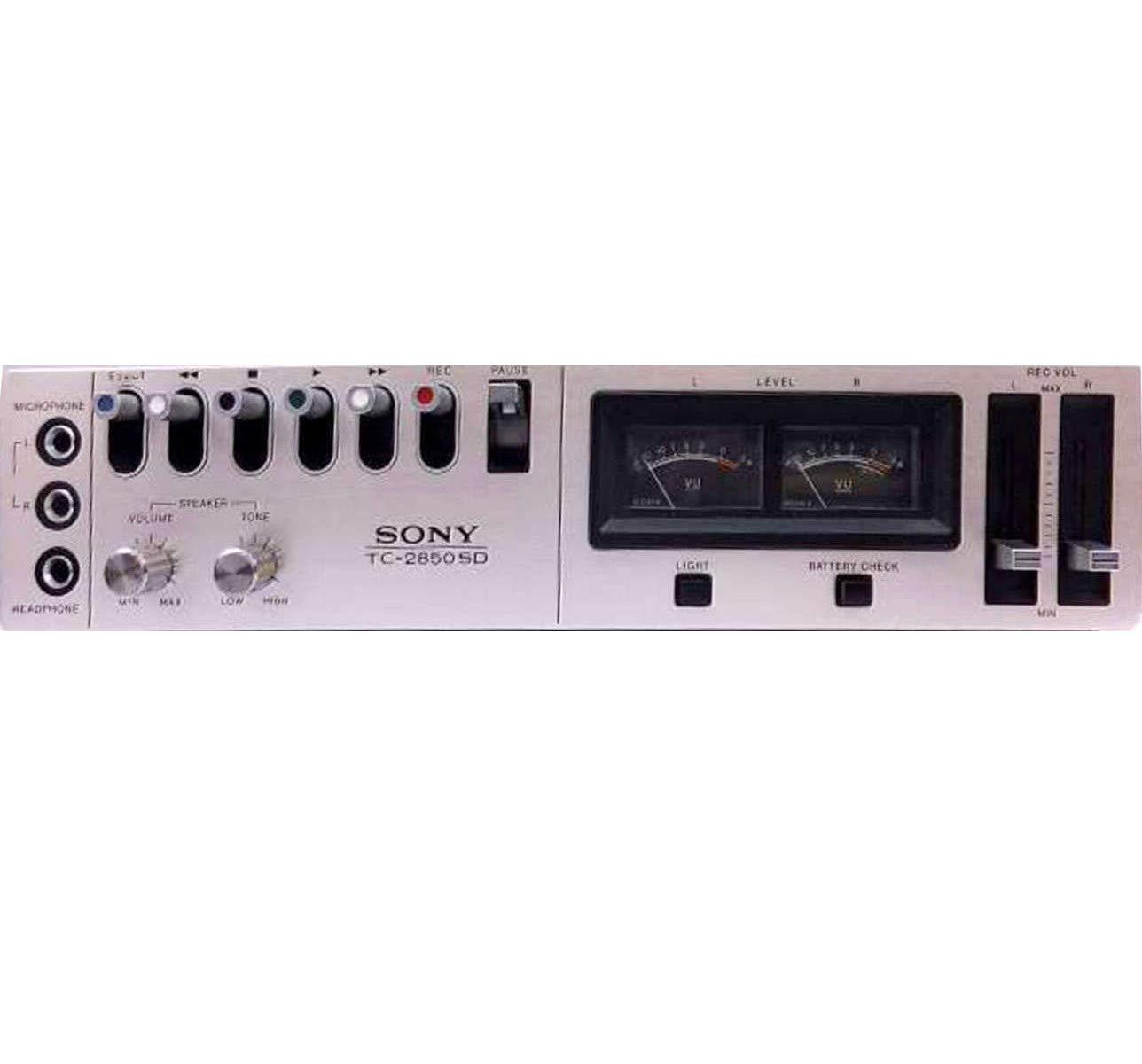 sony カセットデッキカ セットデンスケ TC-2850SD オリジナル布ダストカバー [プレゼントセット] B0732YGCFK