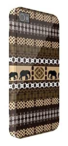 African Tribal Elephant Pattern iPhone 5 / 5S protective case (image shows iPhone 4 example)