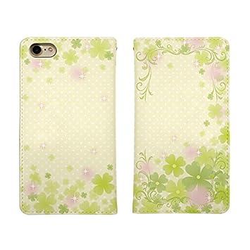 a08b603c28 Carine iPhone 6s 手帳型 スマホケース スマホカバー bn179(A) クローバー ドット 水玉 アイフォン6s