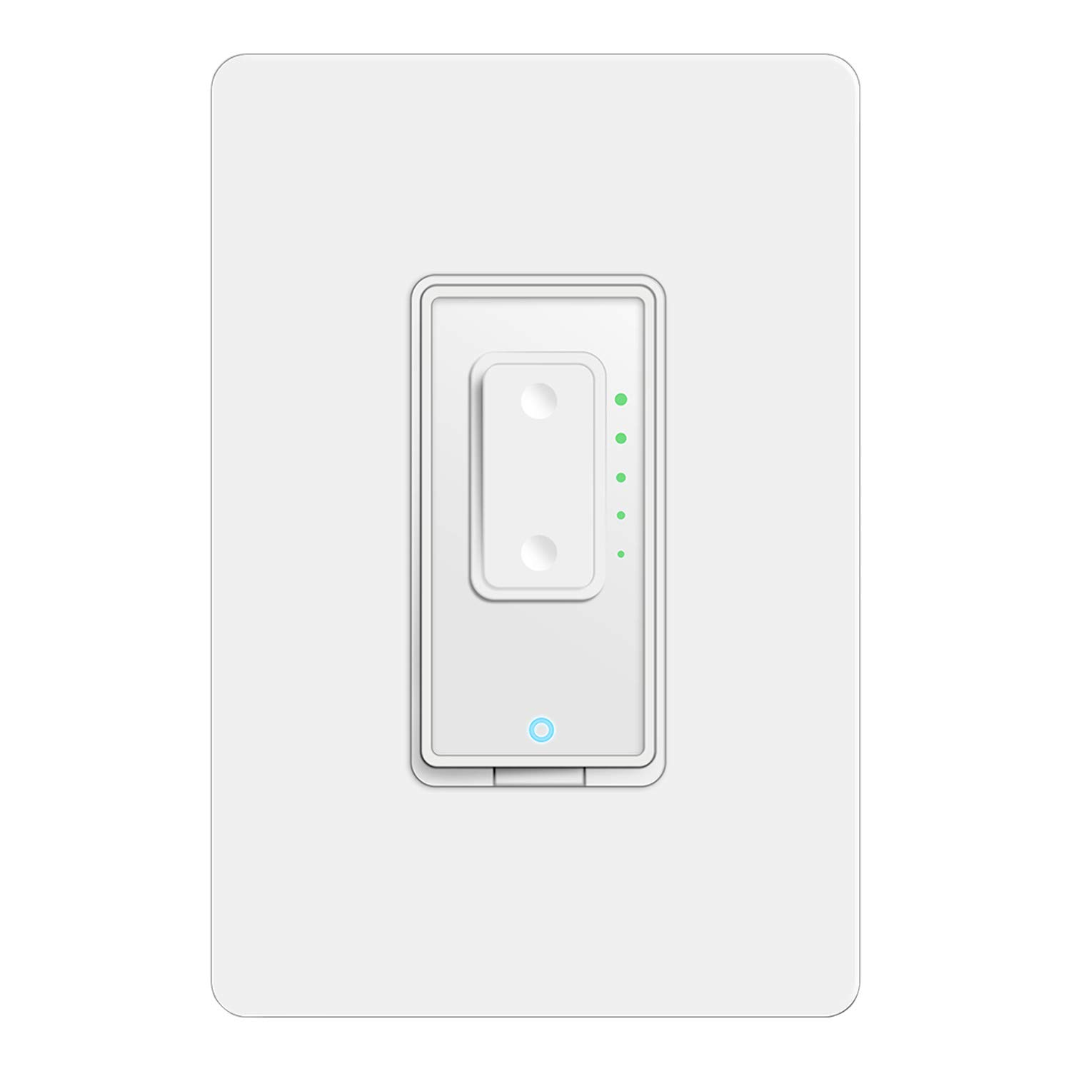 Dimmable WiFi Switch,US Plug Wall-in Smart Switch Smart Life APP Phone Remote Control Compatible with Alexa Google Assistant IFTTT