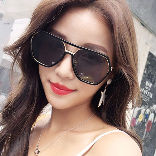 DT Gafas Coreanas 1 Gafas Femeninas Sol 1 Gafas Sol de Delgadas Color polarizadas de gfwrZdgAq