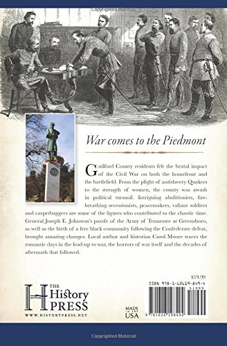 Guilford County and the Civil War (Civil War Series)