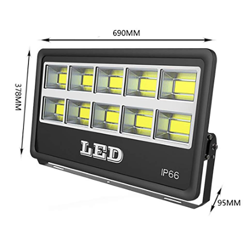 Reflector LED 500W Reflector Impermeable para Exteriores proyector ...
