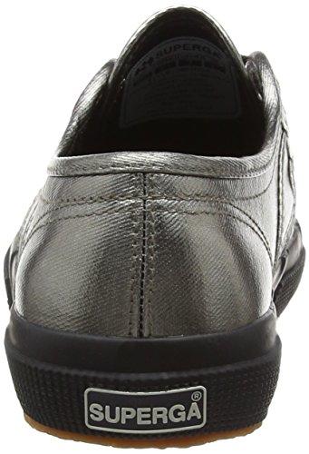 Grey Basse Cotmetu Ginnastica Superga2750 Black Grey Grigio da Scarpe Donna ww48Ifq