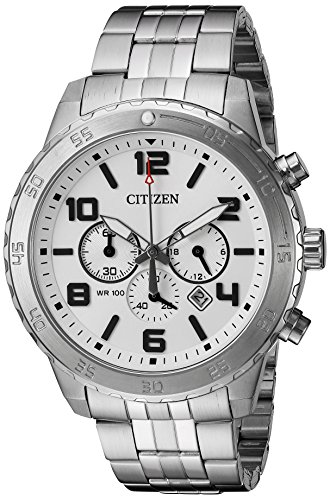 Citizen-Mens-AN8130-53A-Analog-Japanese-Quartz-Chronograph-Silver-Watch