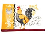 French Country Rooster Kitchen Decor Set Of 4 Placemats