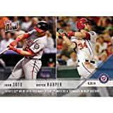 2018 Topps Now Baseball #808 Juan Soto RC Rookie/Bryce Harper Washington Nationals 22nd HR Ties Harper 2nd Most By Teen SOLD OUT at Topps