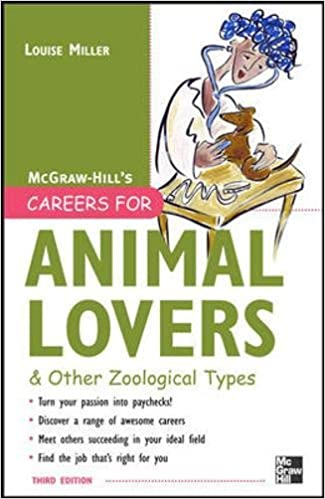 careers for animal lovers miller louise
