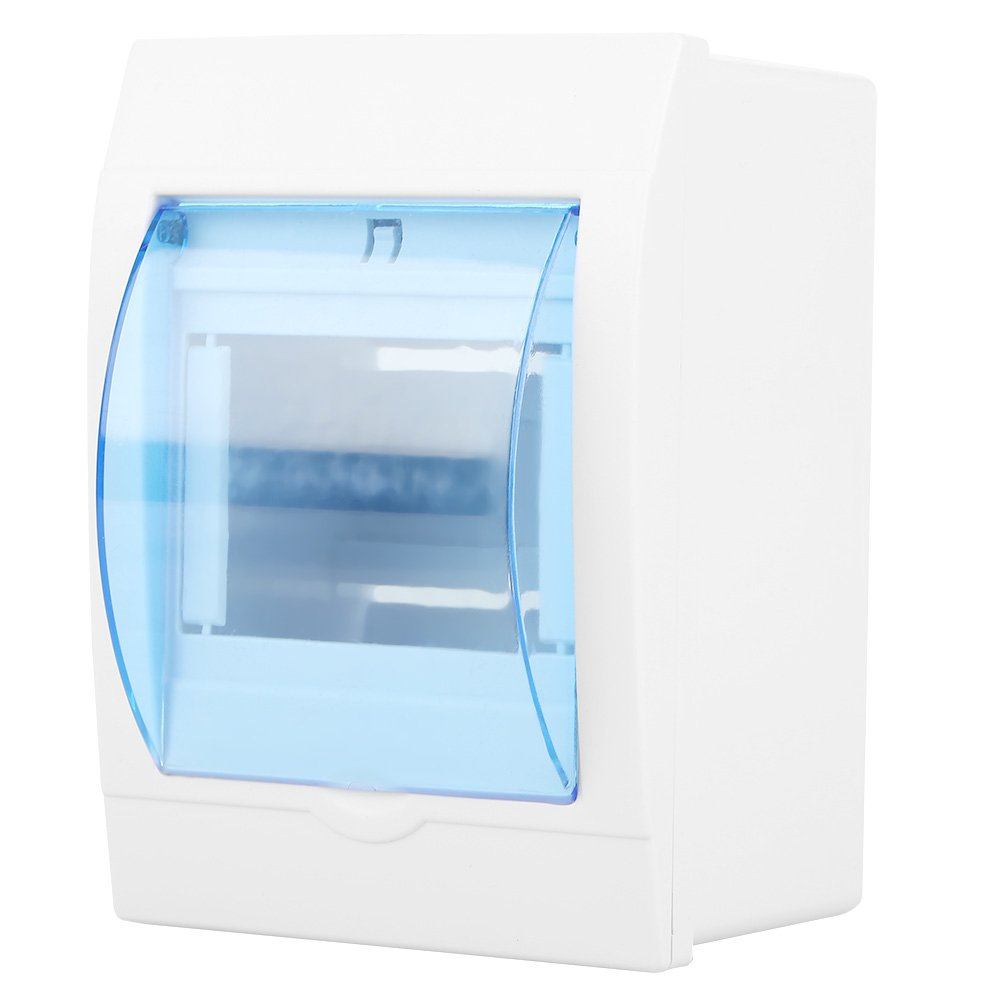 Plastic Transparent Cover Power Distribution Protection Box for 3-4 Ways Circuit Breaker Indoor on The Wall Hilitand