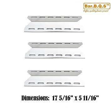bar. b.q.s 92341 (3 unidades) parrilla de Gas placa de calor ...