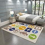 Area Rugs for Children Bedroom Large Soft Carpet , q-03 ,...