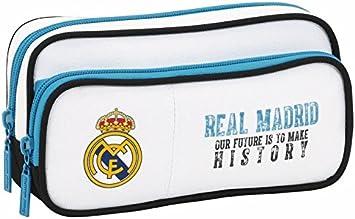 Real Madrid - Estuche portatodo con Bolsillo (SAFTA 811754602): Amazon.es: Juguetes y juegos