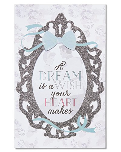 Price comparison product image American Greetings Disney Wedding Card with Glitter