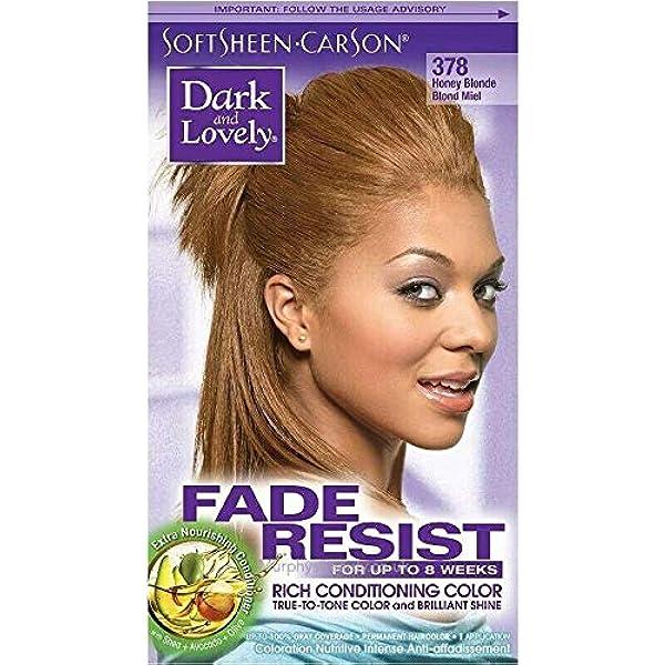 Dark and Lovely - Tinte para el cabello resistente a la ...