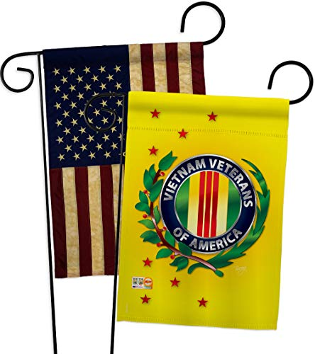 Breeze Decor GP108235-BOAA Vietnam Veteran Americana Military Impressions Decorative Vertical 13