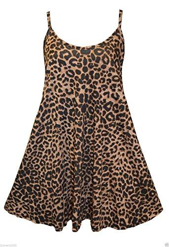 Uptown Girl - Camiseta sin mangas - para mujer leopardo