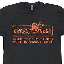 The Boars Nest T Shirt Bar Pub Dukes of Hazzard Vintage retro Shirtmandude