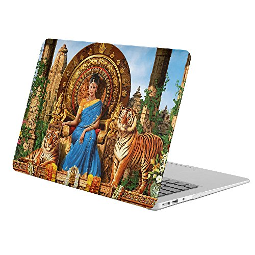 koolmac-full-body-hard-case-apple-macbook-air-11-inch-11-model-a1370-a1465-artistic-women-india-tige