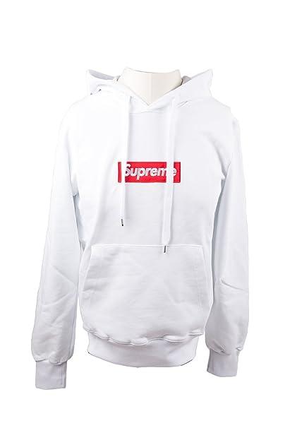 Supreme - Sudadera con capucha - para hombre Bianco Medium : Amazon.es: Ropa y accesorios