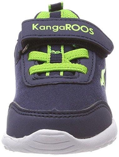 Navy KangaROOS Citylite Blau Lime Gris Mixte Baskets Enfant Ev Dk 6q8pwxBqPC