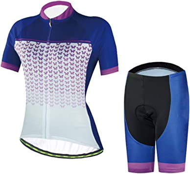 TZTED Verano Mujer Maillots De Bicicleta Conjunto Maillot Ciclismo ...