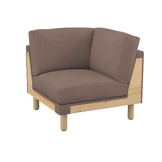 Soferia - Funda de Repuesto para sofá de Esquina IKEA KIVIK ...