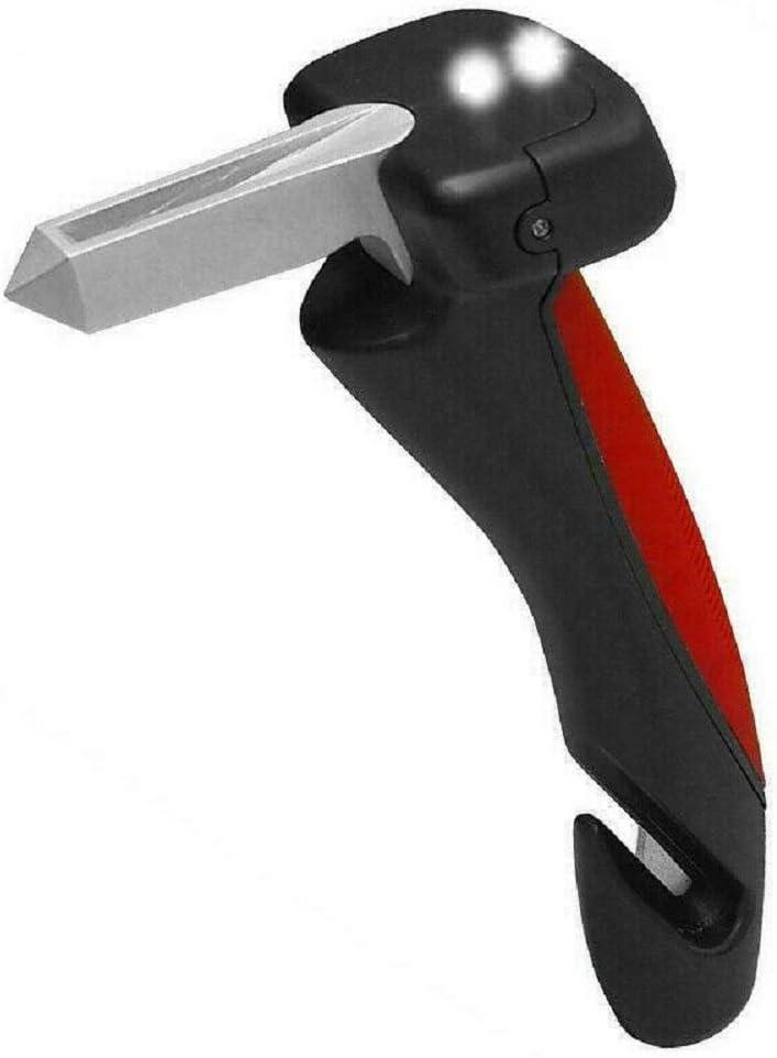 DDD1234 Marteau de s/écurit/é pour Voiture poign/ée de Voiture Portable /échappement Marteau Brise-Verre Ceinture de Coupe Canne.