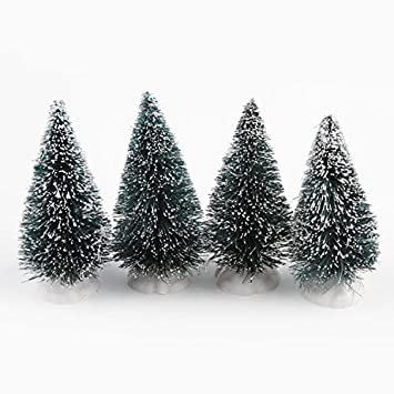 kicode 4 pack 95cm mini fake xmas christmas tree ornaments decoration xmas new year gift - Mini Fake Christmas Tree