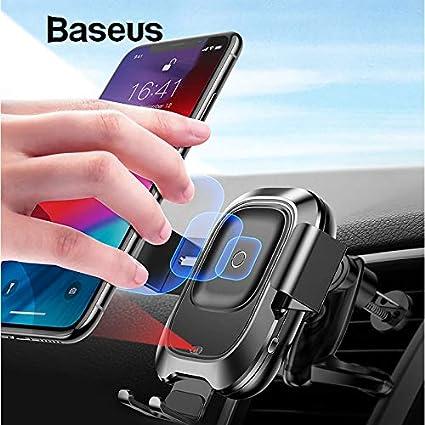 10W Qi Cargador inalámbrico para el coche para Samsung S10 ...