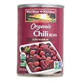 Westbrae Foods Organic Chili Beans, - Case of 12 - 15 oz.