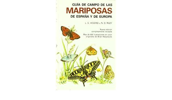 GUIA CAMPO DE MARIPOSAS ESPAÑA Y EUROPA GUIAS DEL NATURALISTA ...