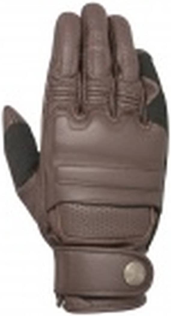 Alpinestars Robinson Leather Motorcycle Glove Black Medium