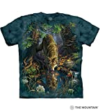 The Mountain Adult Unisex T-Shirt - Enchanted Wolf Pool 2XL (+$2)