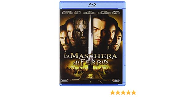 La Maschera Di Ferro [Italia] [Blu-ray]: Amazon.es: Gabriel Byrne, Gerard Depardieu, Leonardo Di Caprio, Judith Godreche, Jeremy Irons, John Malkovich, ...