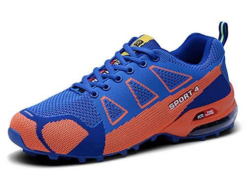 Tricot Automne Chaussures Sport Hommes en Chaussures Bleu De Air BorCQxeWEd