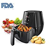 Best french fry cooker no oil - Air Fryer 4.3 Quarts/4L Hot Airfryer Cooker Review
