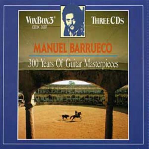 (Manuel Barrueco: 300 Years Of Guitar Masterpieces by Manuel Barrueco (1992-05-13))