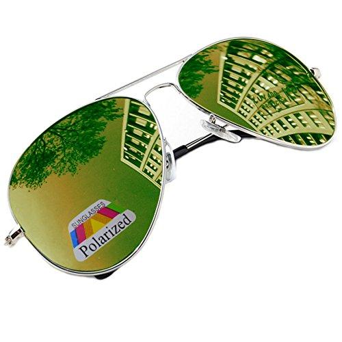 de Gafas para sol Plateado hombre morefaz R8wq5Cx