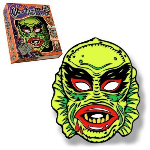 Retro-A-Go-Go Ben Cooper Ghoulsville Fish Face Lapel Pin ()