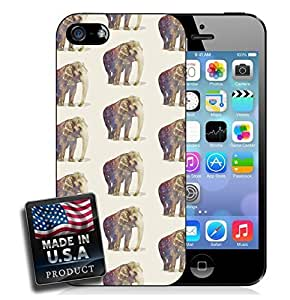 African Elephants Pattern iPhone 4/4s Hard Case
