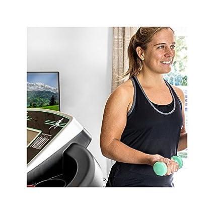 Cinta de Correr Plegable Cecofit Track Vibrator 7015: Amazon.es ...