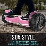 Challenger-Basic-Monopattino-Elettrico-Autobilanciato-Balance-Scooter-Skateboard-con-Due-Ruote-85-in-Bluetooth-App-e-LEDInclusa-Batteria-e-Borsa15KmH