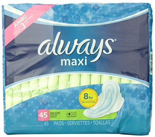 Always Unscented Wings Super Count product image